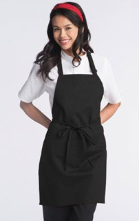 Adjustable Bib Apron - No Pockets