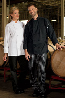Chef Coat 10 Knot-Uncommon Threads