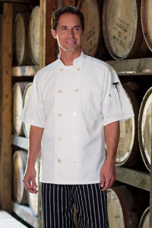 South Beach Short Sleeve Chef Coat-Uncommon Threads