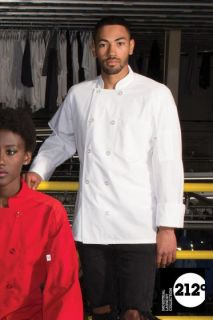 Powerhouse with Mesh Chef Coat-Uncommon Threads