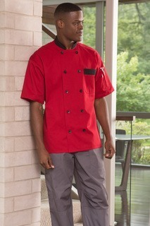 Bristol Ss Chef Coat 10 Button