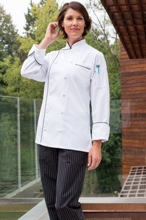 Lia Chef Coat-Uncommon Threads