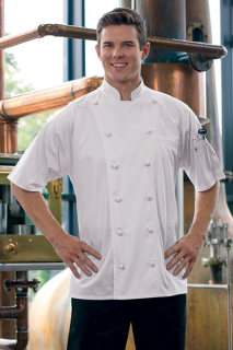 Short Sleeve Master Chef Coat-Uncommon Threads