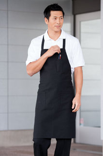 3 Pockets Bib Apron-Uncommon Threads