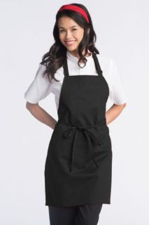 Adjustable Bib Apron - No Pockets-