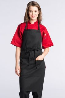 Adjustable Butcher 2 Section Pocket Apron-