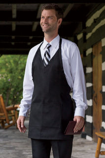 Formal V-Neck Apron-