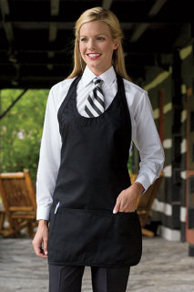 Scoop Neck Apron-