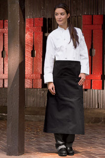 Reversible 3-Pocket Bistro Apron-Uncommon Threads