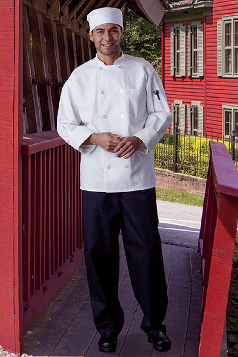 "Classic Baggy Chef Pant 2"" Elastic Waist-Uncommon Threads"