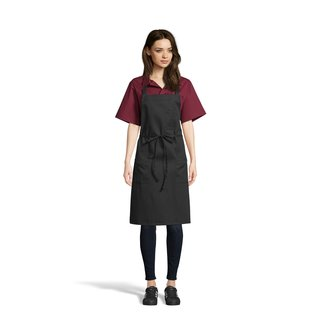 3004 Pencil Patch Pocket Bib-