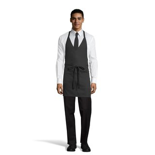 3041 Formal V-Neck Apron-Uncommon Threads