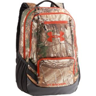 UA Camo Hustle Backpack-Under Armour