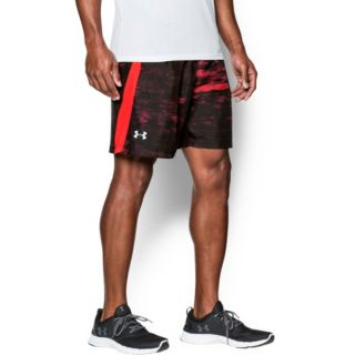 "Small 1253575 Under Armour Men/'s UA Launch Run Printed 7/"" Running Shorts"