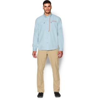 UA Armourvent Fishing Wvn LS-Under Armour