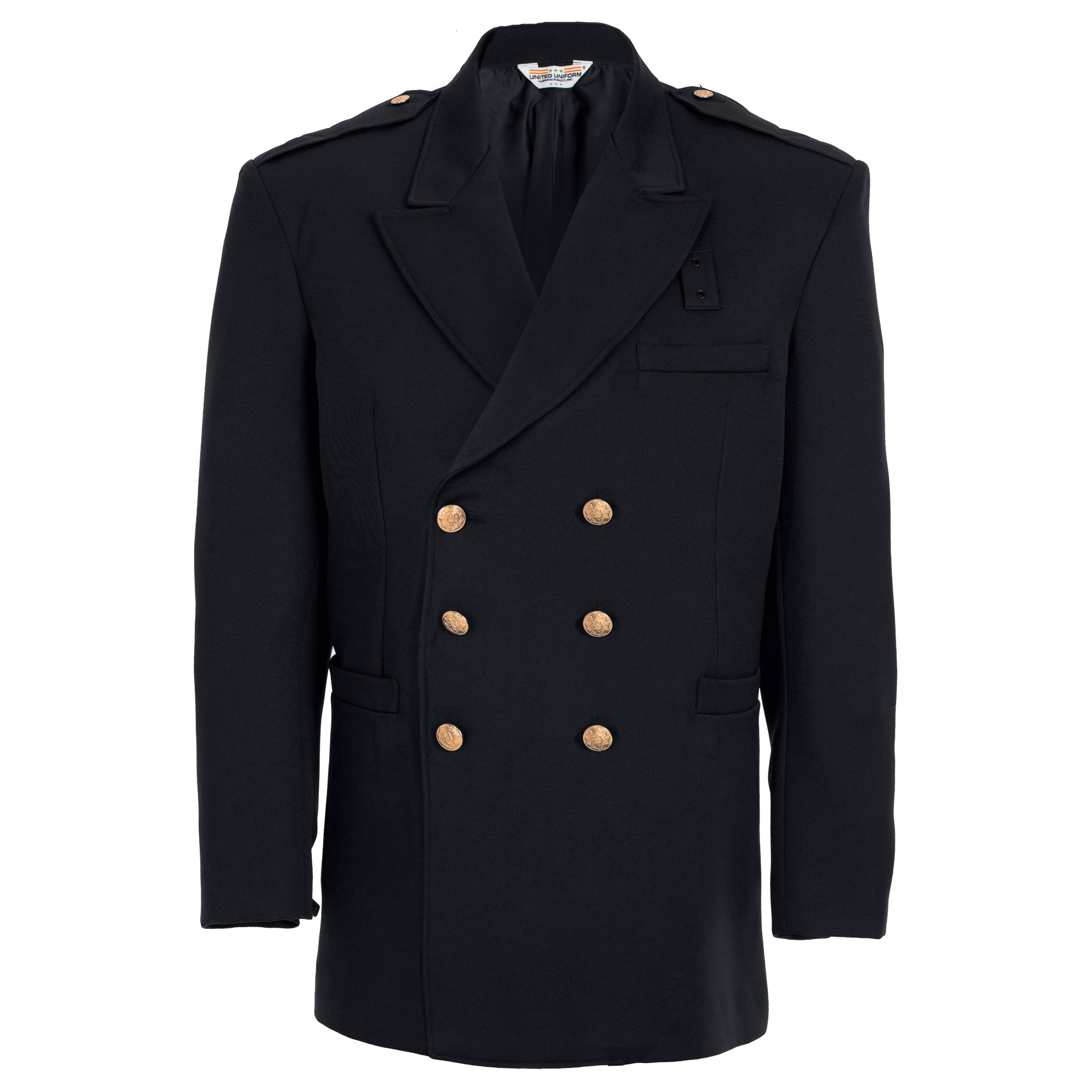 10704SF Double Breasted Dress Coat - Serge Weave-United Uniform Manufacturers