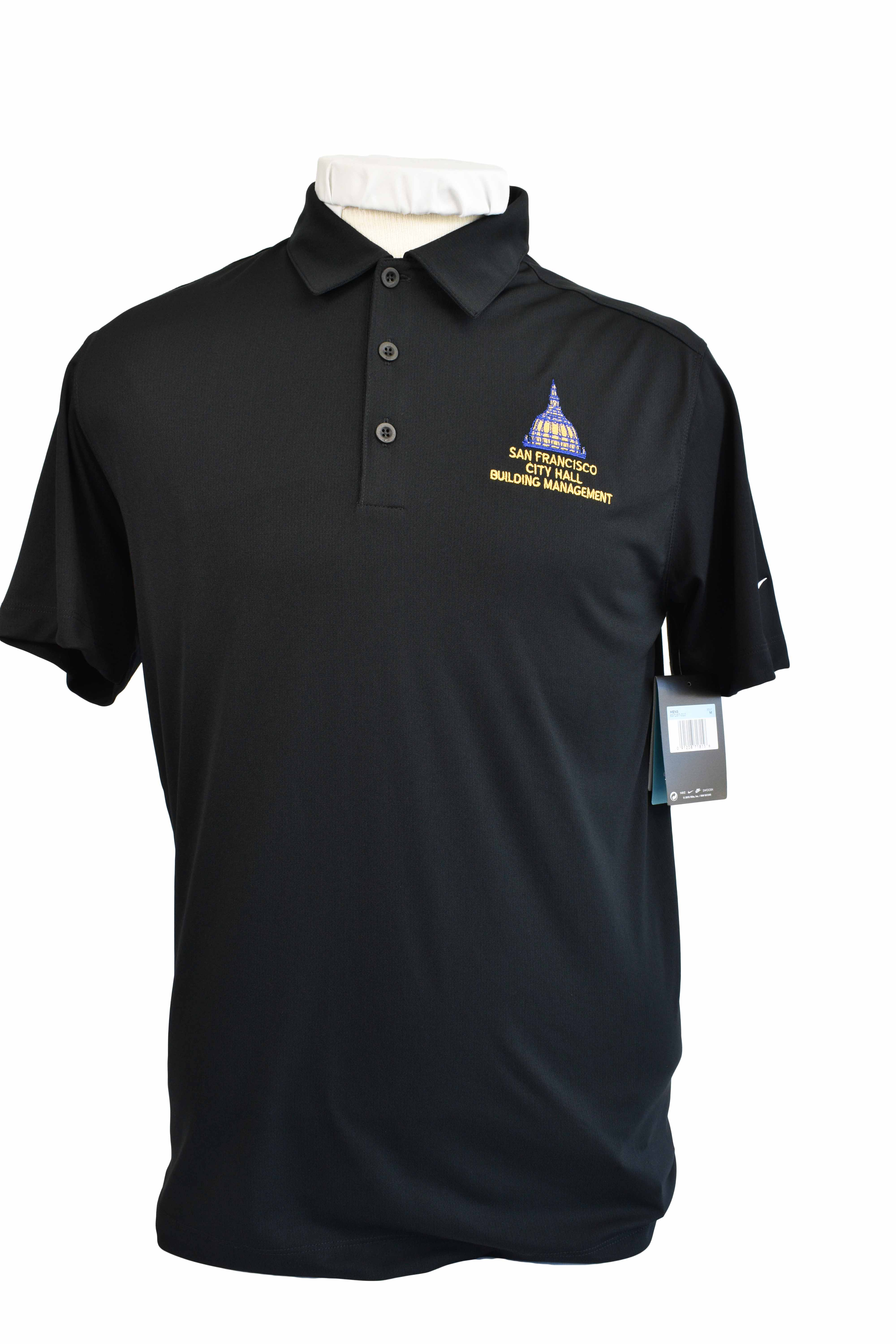 san francisco city hall building management uniforms shirt polo embroidery logo
