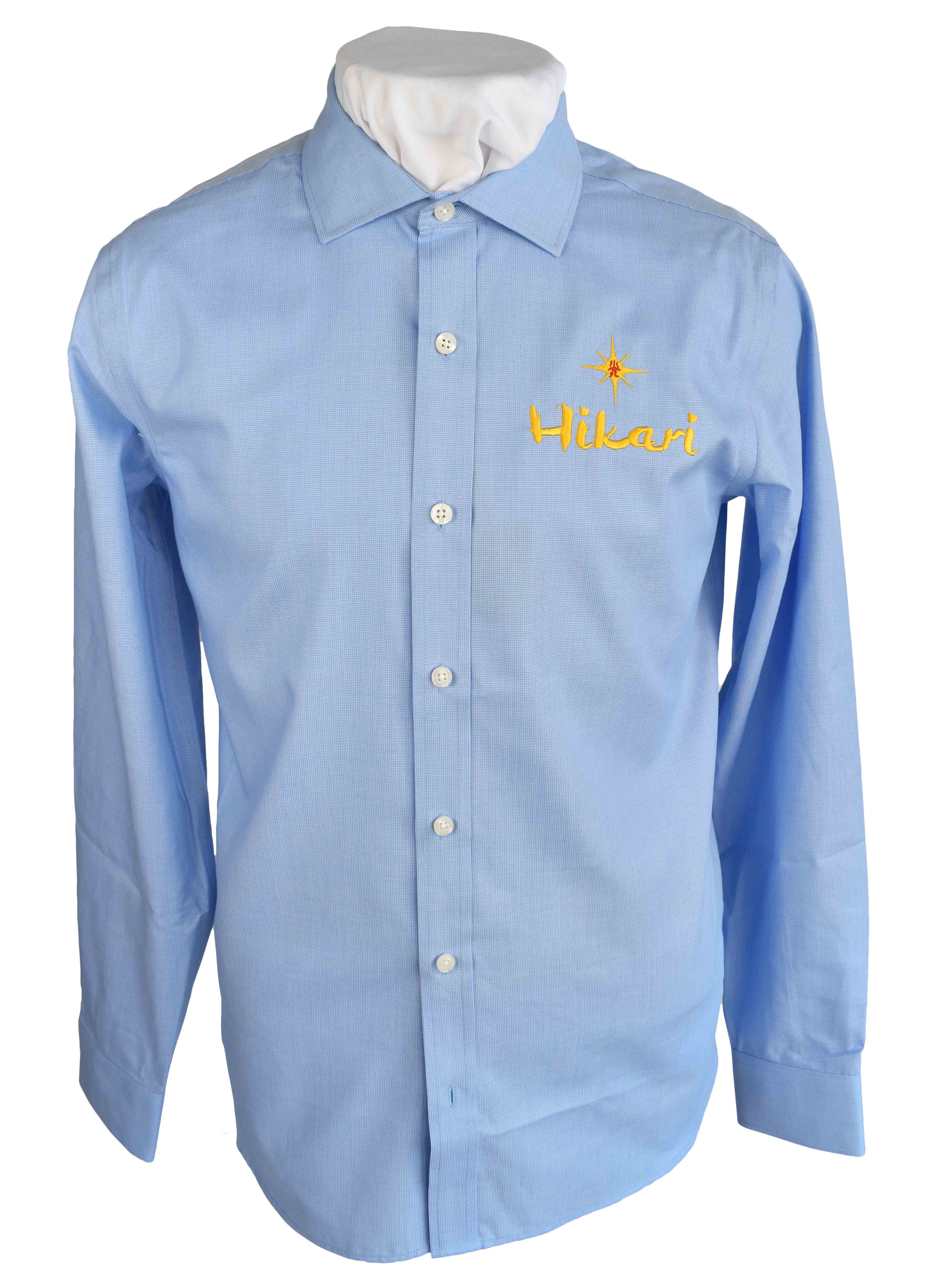 dress shirt with embroidery logo