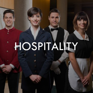 hospitality uniforms janitorial uniforms front desk uniforms waitress