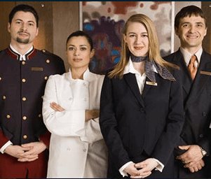 hospitality uniforms housekeeping uniforms front office uniforms food and beverage uniforms chef uniforms embroidery