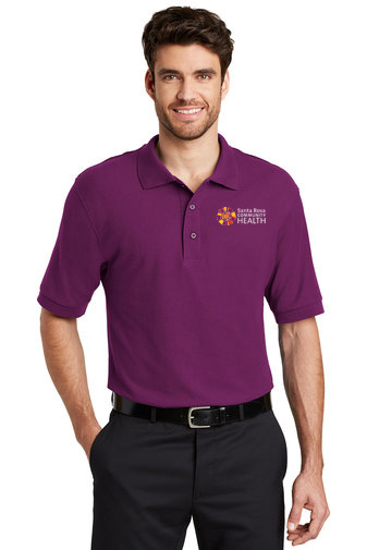 Port Authority® Silk Touch Polo.-Banner