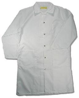 Snap-Front Butcher Coat