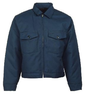 Work Jacket With Patch Pocket-