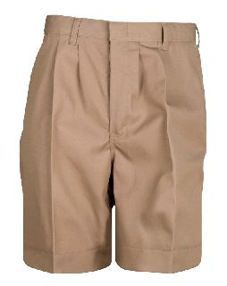 Pleated Front Short-
