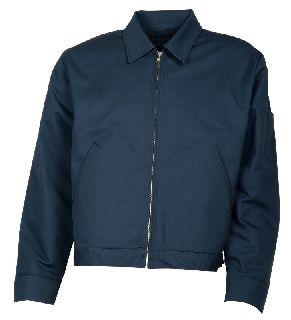 Work Jacket With Slash Pocket-