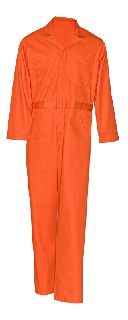711 Cotton Coverall-Button Front