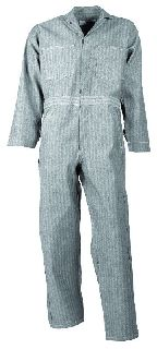Cotton Coverall-Button Front-