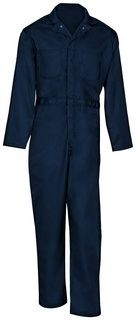 750S Cotton Coverall-Snap Front-