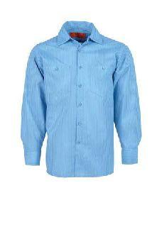 Industrial Stripe Work Shirts-