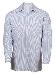 847-S Industrial Stripe Work Shirts-