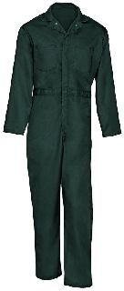 9780 Twill Action Back Coverall-