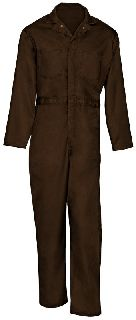 9787 Twill Action Back Coverall-