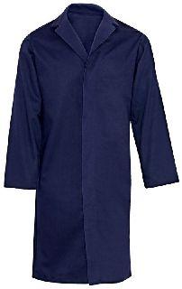 Indura Ultra Soft Concealed-Snap Pocketless Lab Coat-