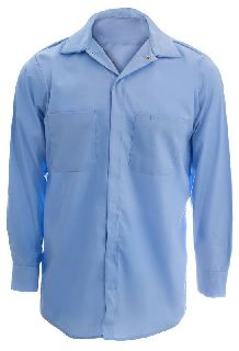 Concealed Gripper Front Shirt-Long Sleeve