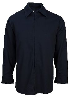 Indura Ultra Soft Concealed-Snap Pocketless Shirt-Universal Overall