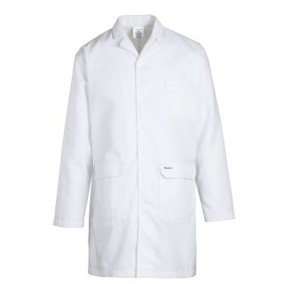 Mens CP Lab Coat - 100% Polyester Poplin Weave with Shield CSR - 5.2 oz-Bulwark®