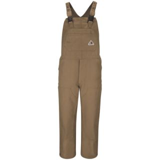 Brown Duck Unlined Bib Overall-Bulwark�