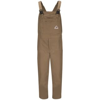 Brown Duck Insulated Bib Overall-Bulwark�