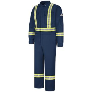 Premium Coverall with CSA Compliant Reflective Trim - EXCEL FR ComforTouch-