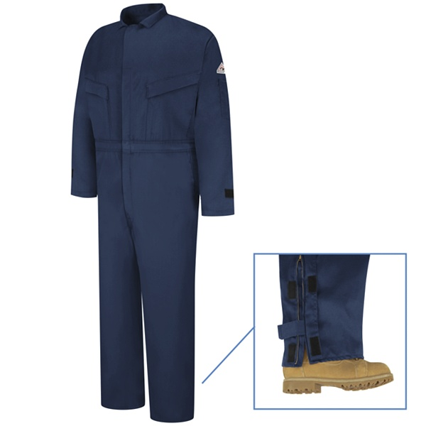 EXCEL FR ComforTouch Deluxe Coverall WITH YOUR COMPANY LOGO