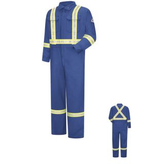Premium Coverall with Reflective Trim - CoolTouch 2 - 7 oz.-