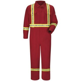 Premium Coverall with CSA Compliant Reflective Trim - Nomex IIIA