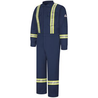 Premium Coverall with Reflective Trim - Nomex IIIA-Bulwark®