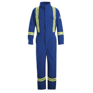 Premium Coverall with Reflective Trim - Nomex IIIA