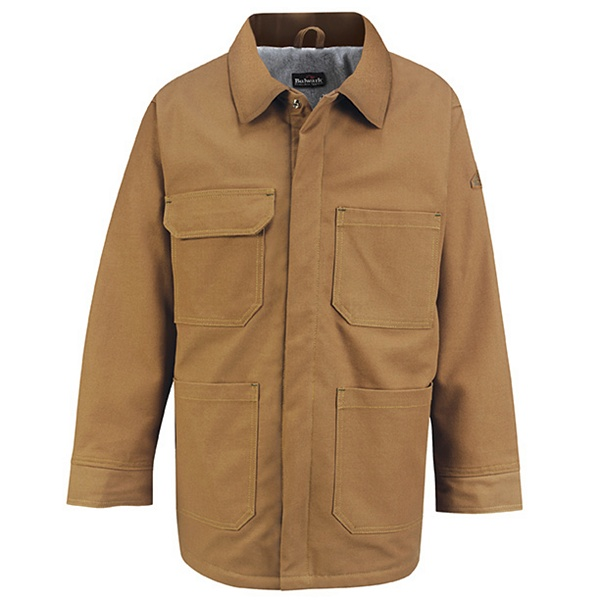 Brown Duck Lineman's Coat - EXCEL FR ComforTouch-Bulwark®