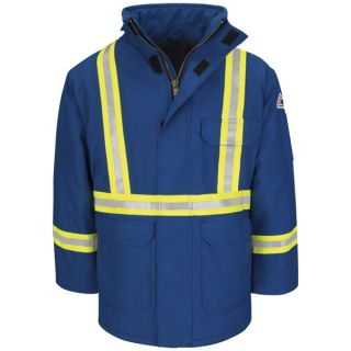 Deluxe Parka with CSA Reflective Trim - Nomex IIIA-